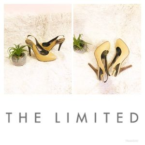The Limited   Leather Almond toe Heels / Pumps